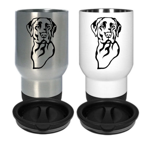 Aluminium-Thermobecher Labrador Retriever 1